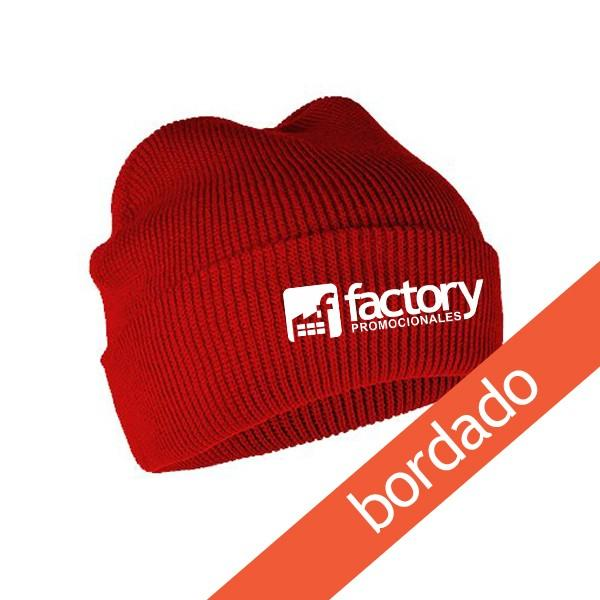 12 Gorros de Lana Marinero Premium con logo bordado en frente ... 38bed0cd8ac