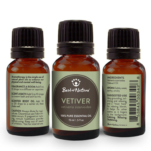 Vetiver Essential Oil - Spa & Bodywork Market