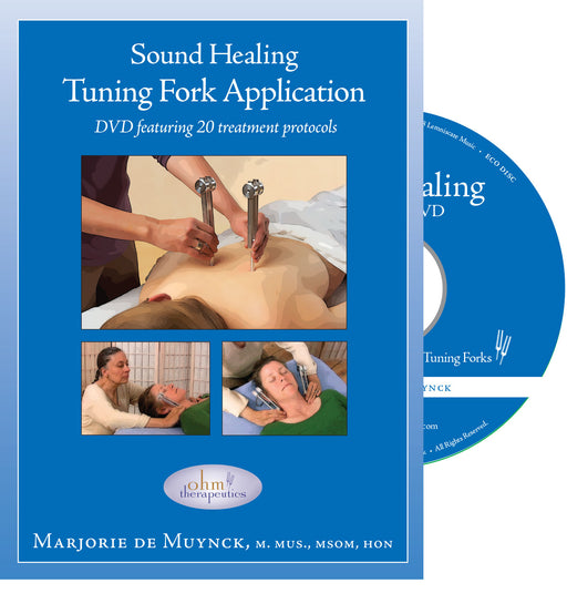 Sound Healing Tuning Fork Application DVD - Spa & Bodywork Market