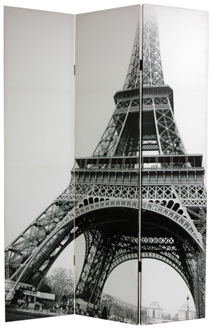 Eiffel Tower Art Print Screen (Canvas/Double Sided) - Spa & Bodywork Market