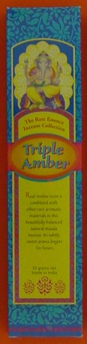 Triple Amber Incense - Spa & Bodywork Market