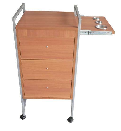 Hair Trolley with Appliance Holders - Spa & Bodywork Market
