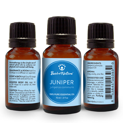Juniper Essential Oil - Spa & Bodywork Market
