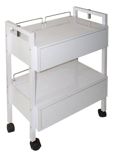 Facial Trolley with 2 Drawers - Spa & Bodywork Market