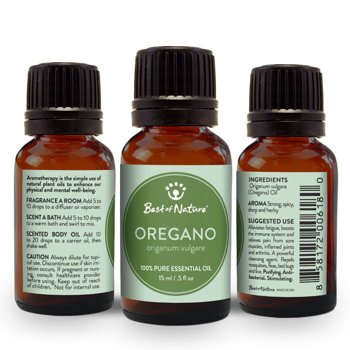 Oregano Essential Oil - Spa & Bodywork Market