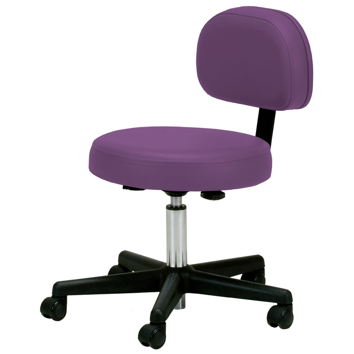 Pneumatic Massage Stool with Back - Free Shipping! - Spa & Bodywork Market