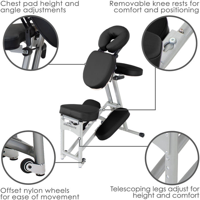 Ergo Pro II Massage Chair Package - FREE SHIPPING!