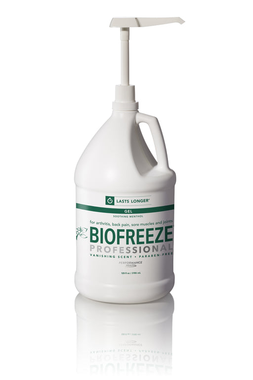 Biofreeze Professional Gallon Gel Pump - Spa & Bodywork Market