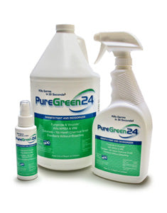 Pure Green24 Disinfectant & Deodorizer - Spa & Bodywork Market