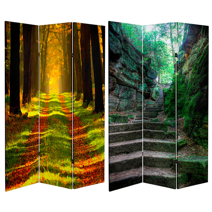 Trail of Joy Art Print Screen (Canvas/Double Sided) - Spa & Bodywork Market
