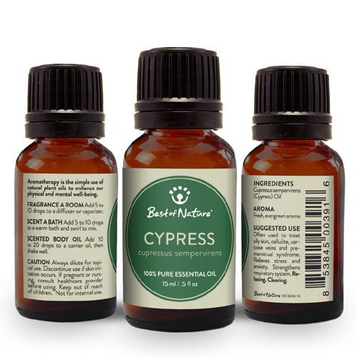 Cypress Essential Oil - Spa & Bodywork Market