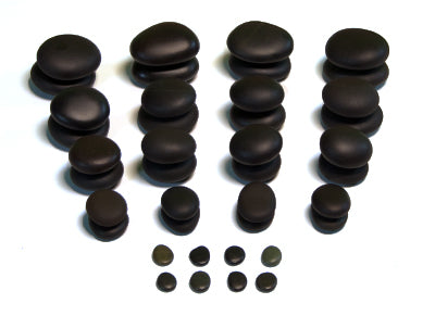 40 Piece Hot Stone Massage Value Set - Spa & Bodywork Market
