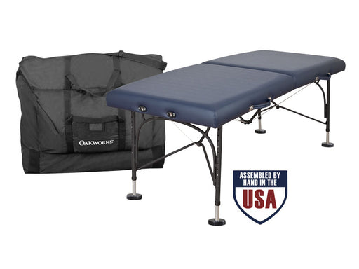The Boss Massage Table and Case (Oakworks) - Spa & Bodywork Market