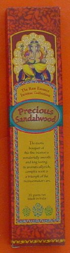 Precious Sandalwood Incense - Spa & Bodywork Market