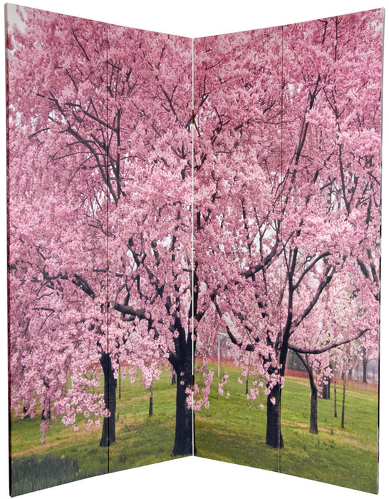 Blossoms Art Print Screen (Canvas/Double Sided) - Spa & Bodywork Market