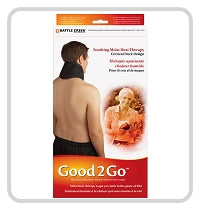 "Good2Go Moist Heat Pack - Cervical 5"" x 16"" / Microwaveable - Spa & Bodywork Market"