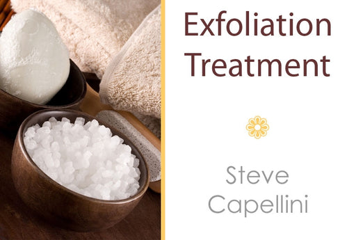 Steve Capellini - Spa Exfoliation Treatment - 3 CE Hours - Spa & Bodywork Market