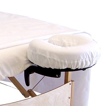 Percale Face Cradle Cover - Fitted - Spa & Bodywork Market