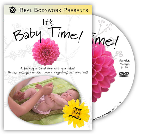 It's Baby Time! Infant Massage DVD - Spa & Bodywork Market