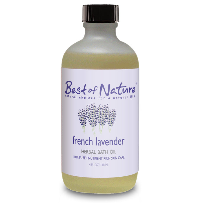 French Lavender Herbal Bath Oil - Spa & Bodywork Market