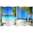 Beach Art Print Screen (Canvas/Double Sided) - Spa & Bodywork Market