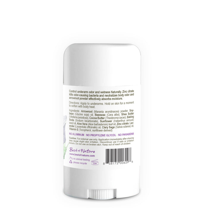 Lavender Breeze Natural Deodorant - Spa & Bodywork Market
