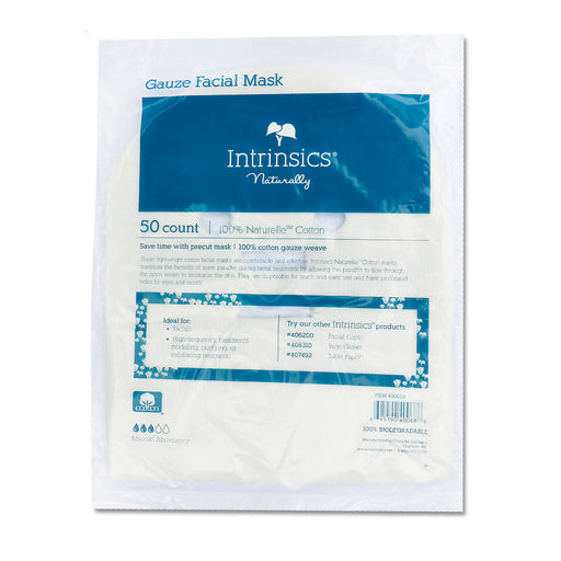 Gauze Facial Mask - 50 ct - Spa & Bodywork Market