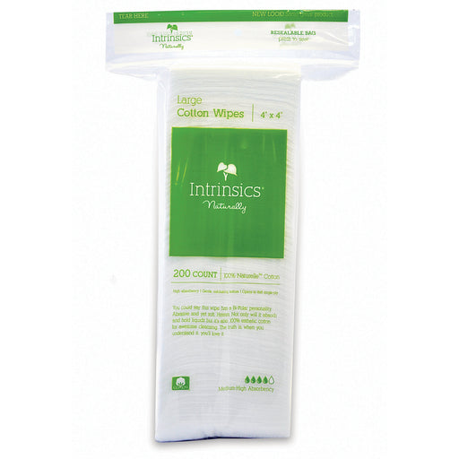"Large Cotton 4"" x 4"" Wipes - Spa & Bodywork Market"