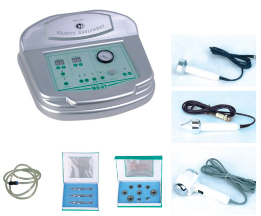 Diamond Microdermabrasion Machine with Ultrasonic + Hot / Cold Ultrasonic Hammer - FREE SHIPPING! - Spa & Bodywork Market