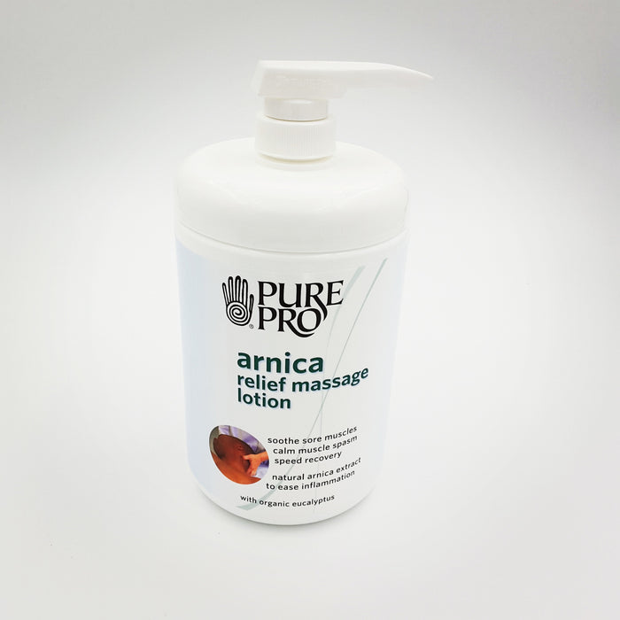 Arnica Relief Massage Lotion - Spa & Bodywork Market
