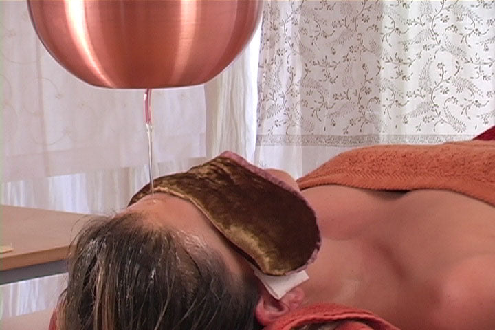 Ayurvedic Face Massage & Shirodara DVD - Spa & Bodywork Market