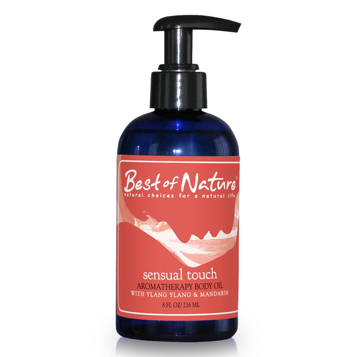 Sensual Touch Aromatherapy Body Oil - Spa & Bodywork Market