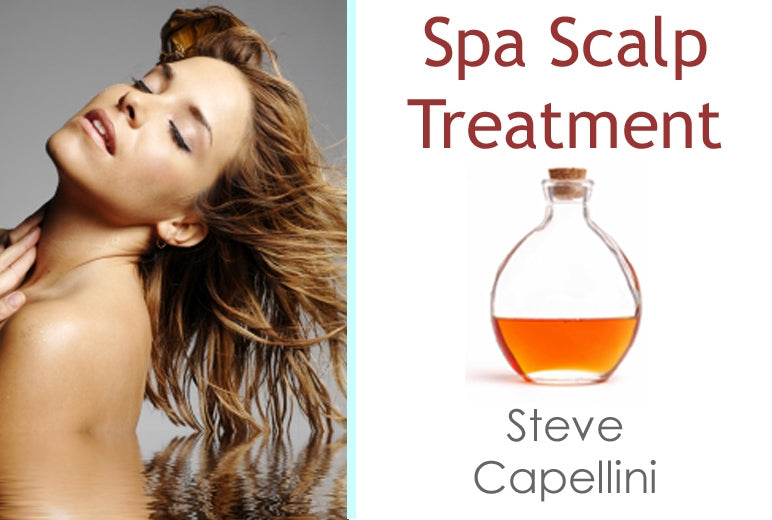 Steve Capellini - Spa Scalp Treatment - 3 CE Hours - Spa & Bodywork Market