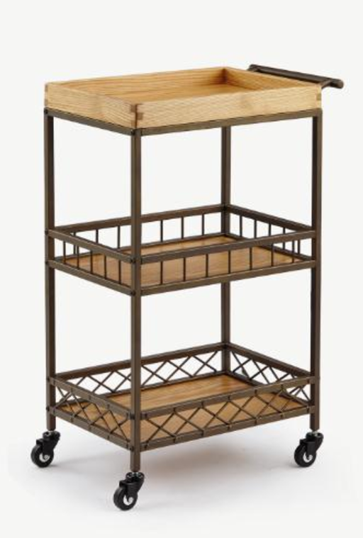 Wooden Esthetician's Trolley - Spa & Bodywork Market