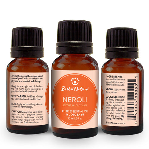 Neroli Absolute Essential Oil blended with Jojoba Oil - Spa & Bodywork Market