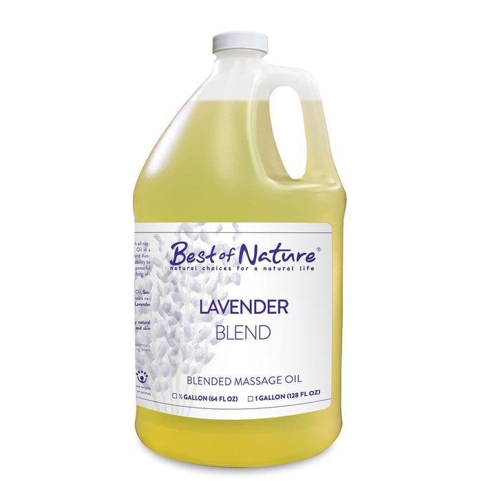 Lavender Blend Massage Oil - Spa & Bodywork Market