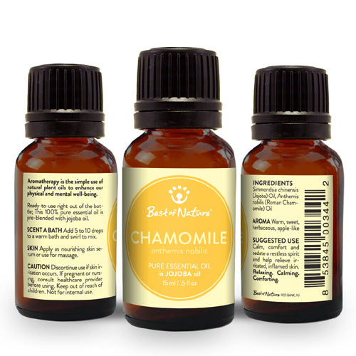 Roman Chamomile Essential Oil blended with Jojoba Oil - Spa & Bodywork Market