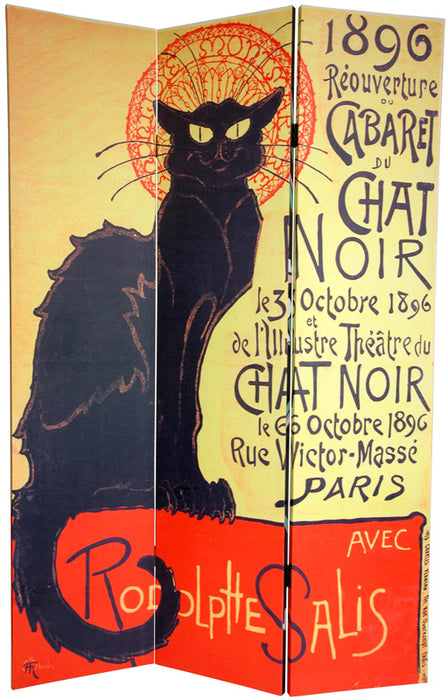 Chat Noir (Canvas/Double Sided) - Spa & Bodywork Market