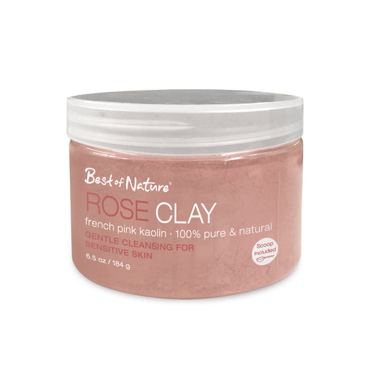 Rose Clay - French Pink Kaolin - Spa & Bodywork Market