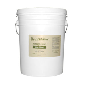 Deep Tissue Massage Cream - 5 Gallon Pail - Spa & Bodywork Market