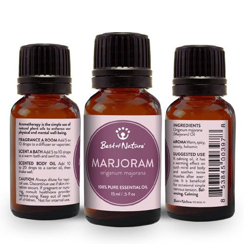 Marjoram Essential Oil - Spa & Bodywork Market