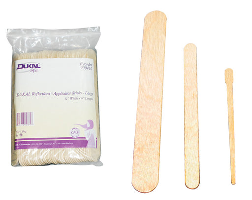 Waxing Applicator Sticks - Spa & Bodywork Market