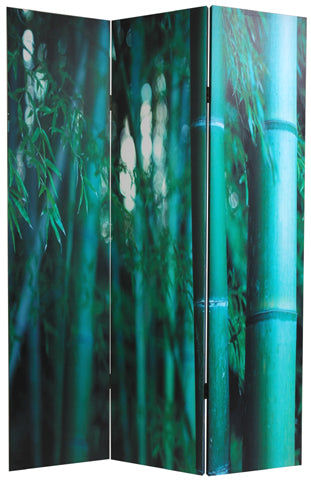 Bamboo Art Print Screen (Canvas/Double Sided) - Spa & Bodywork Market