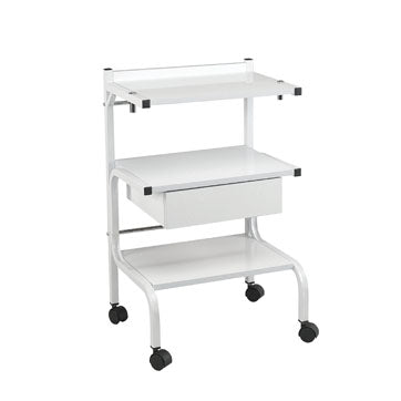 Facial Trolley -  with 1 Drawer and Power Strip - Spa & Bodywork Market
