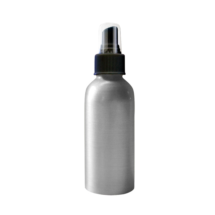 Aluminum Bottle with Mister Top - 4 oz - Spa & Bodywork Market