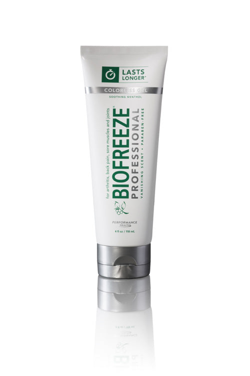 Biofreeze Professional 4 oz Tube (Colorless) - Spa & Bodywork Market