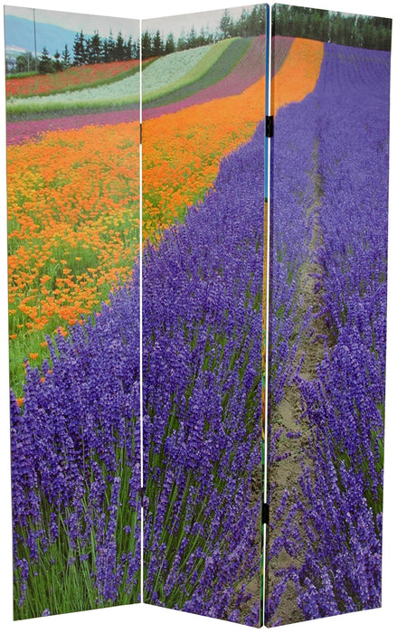 Summer Fields Art Print Screen (Canvas/Double Sided) - Spa & Bodywork Market