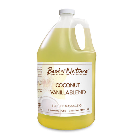Coconut Vanilla Blend Massage Oil - Spa & Bodywork Market