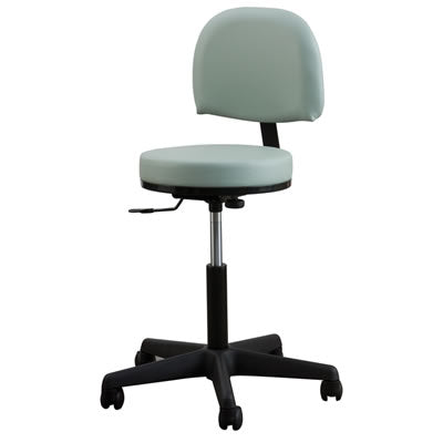 Premium Rolling Stool with Backrest - Spa & Bodywork Market