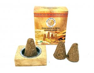 Palo Santo and Copal Incense Cones